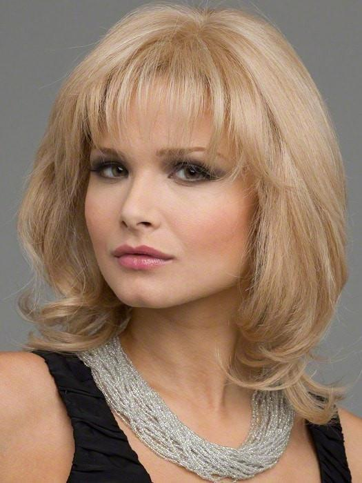 DANIELLE Wig by Envy in VANILLA BUTTER | Golden Blonde blended with Champagne Blonde