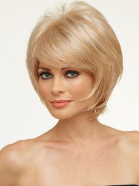 Kellie by Envy Wigs | Razored Bob Cut | Color LIGHT BLONDE