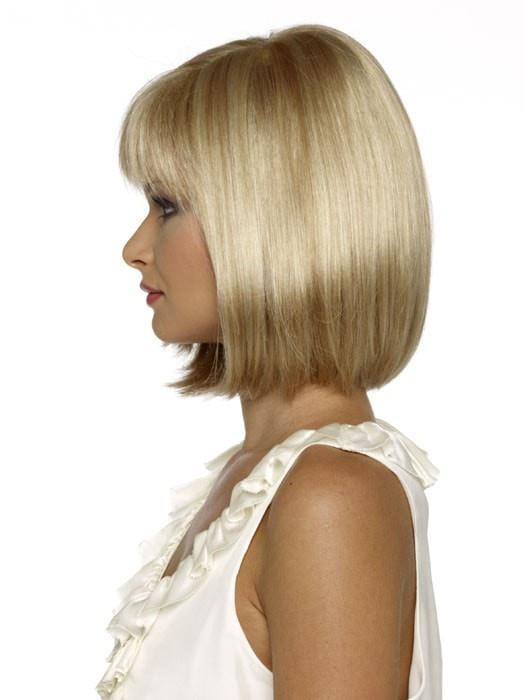This bob cut is suitable for many ages and facial shapes
