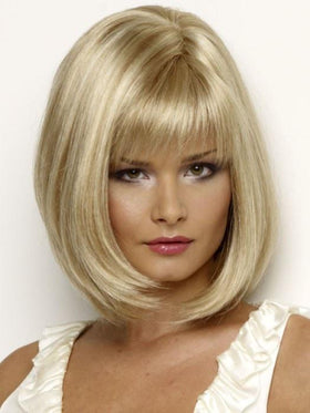 PAIGE PETITE by Envy in LIGHT BLONDE | 2 toned blend of creamy blonde with champagne highlights