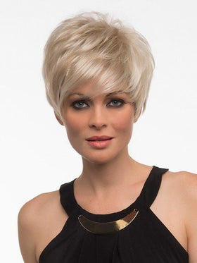 SHARI LARGE by Envy in LIGHT BLONDE | 2 toned blend of Creamy Blonde with Champagne highlights