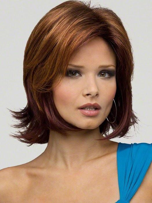 Envy Wigs Taylor Wig : 100% Hand-tied | Color : CINNAMON RAISIN