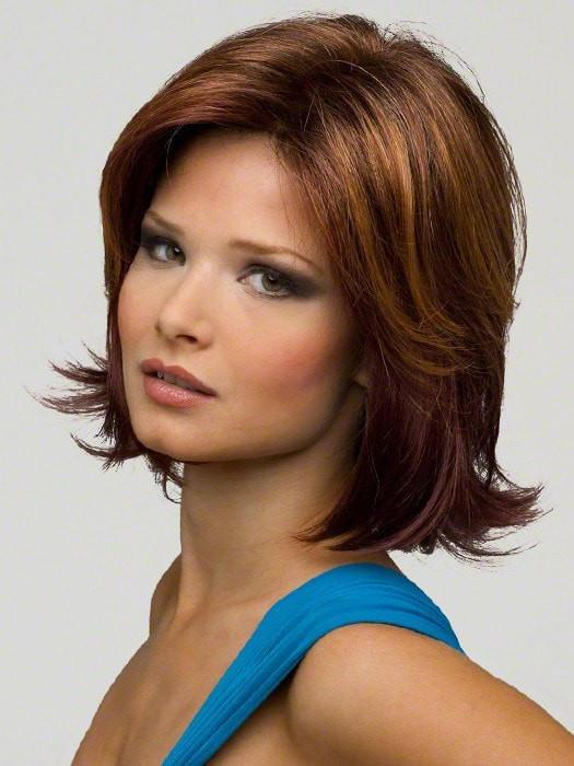 Taylor by Envy Wigs : Color  CINNAMON RAISIN