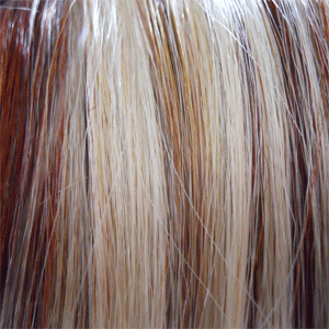 RS29 -Candy Blonde Swirled with Strawberry Blonde & Med Auburn