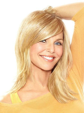 Full Sweeping Side Fringe Clip in Bangs by Christie Brinkley | Color: HT25