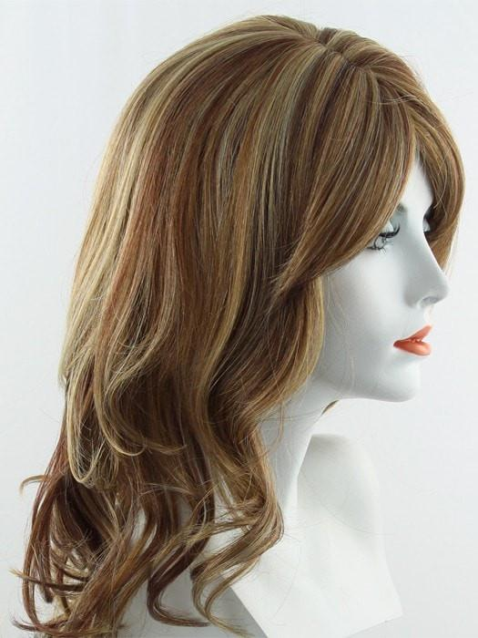 RS29 | Candy Blonde Swirled with Strawberry Blonde and Medium Auburn