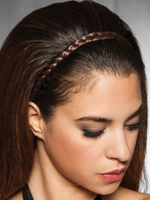 R6/30H = Chocolate Copper | French Braid Band