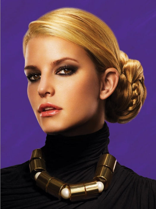 Color N/A | Braided Chignon by Jessica Simpson