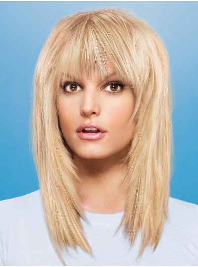 Color N/A | Human Hair Fringe by Jessica Simpson