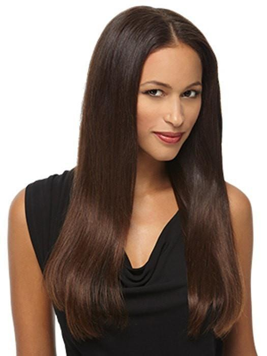 "R10 = Chestnut | 16"" 100% Remy Human Hair Extension kit by Hairdo"