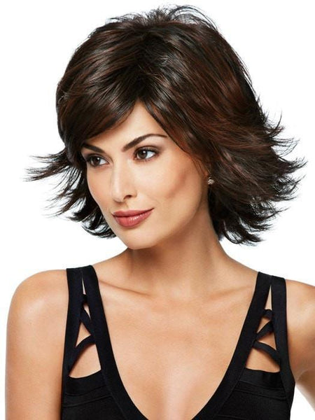 Short, Layered Wig for Women