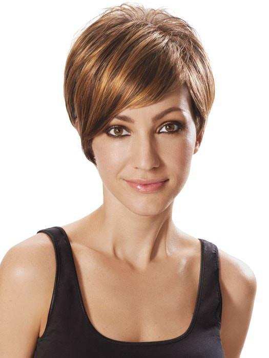 Color R3329S+ = Glazed Auburn | Angled Cut Wig by hairdo