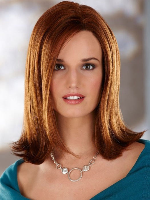Color 132H = DARK AUBURN / BRIGHT AUBURN WITH BRIGHT COPPER RED HIGHLIGHTS | Scarlett by Henry Margu