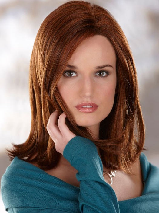 Color 132H = DARK AUBURN / BRIGHT AUBURN WITH BRIGHT COPPER RED HIGHLIGHTS