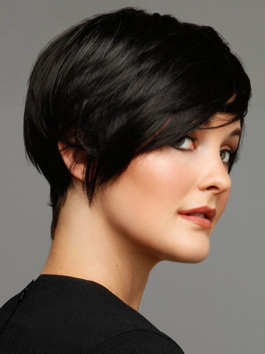 Color 111 = Black | Short Bob by Tabatha Coffey