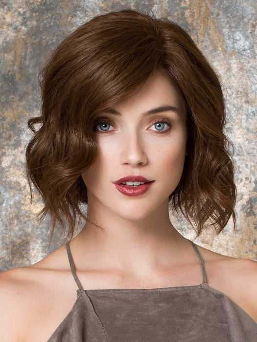 Color CHOCOLATE/MIX = Medium Brown and Medium Auburn blend | Gloss by Ellen Wille