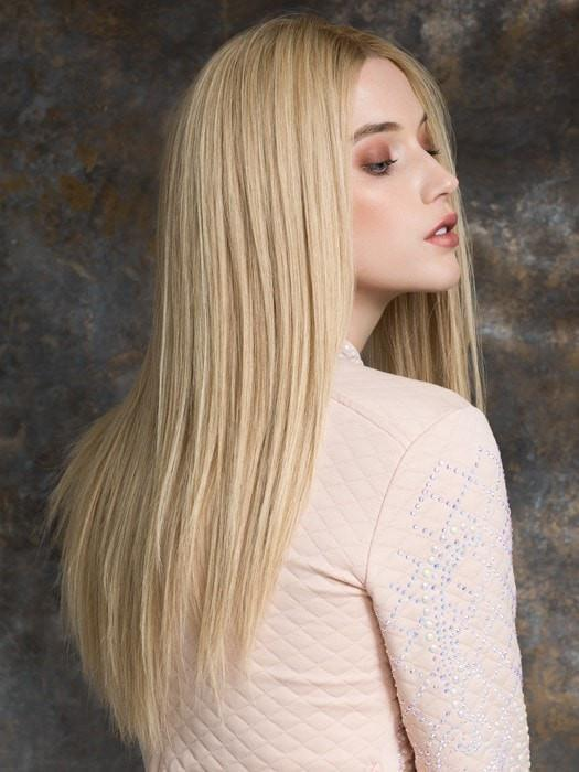 Ash Blonde Lace Front Wig Color Champagne/Rooted by Ellen Wille