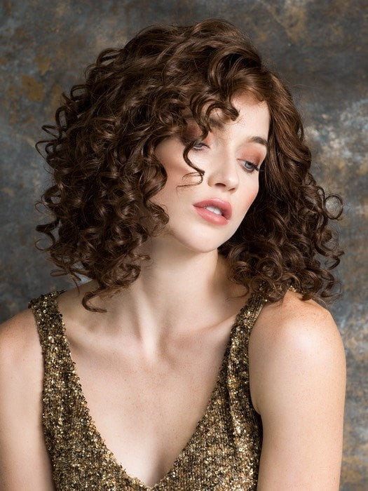 Color CHOCOLATE/MIX = Medium Brown and Medium Auburn blend | Soul by Ellen Wille
