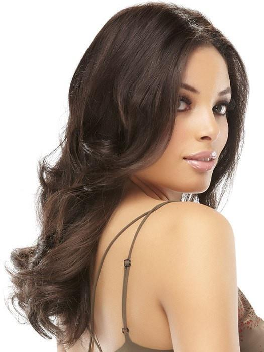 "EASIPART HD 12"" by easihair in 4 MIDNIGHT BROWN 