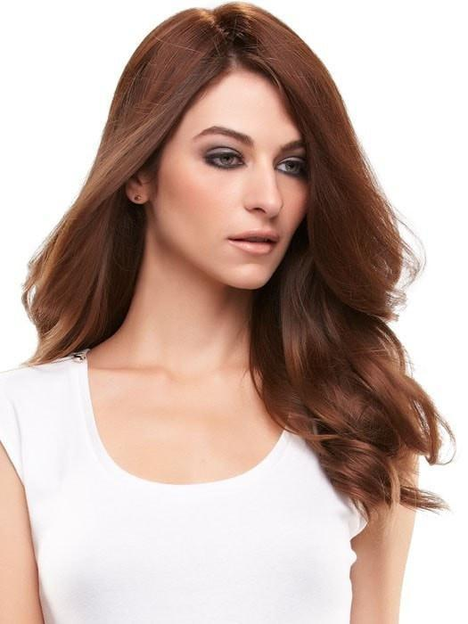 "EASIPART HD 12"" by easihair in 8/30 GINGER BROWN 