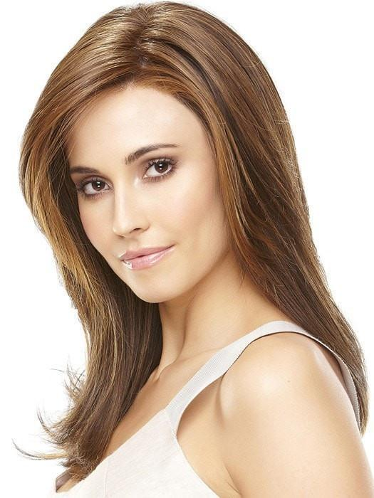 Lace front with a monofilament top and High Heat Fiber  | Color: 6F27