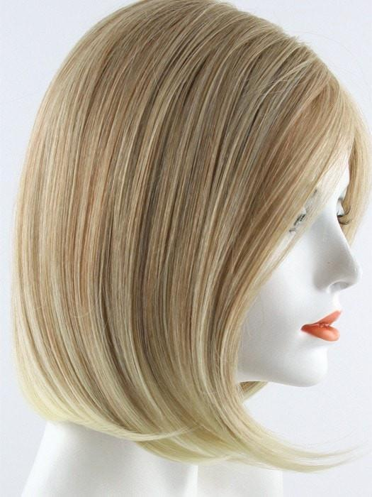 27T613 | Medium Red Blonde and Pale Natural Gold Blonde Blend with Pale Natural Gold Blonde Tips
