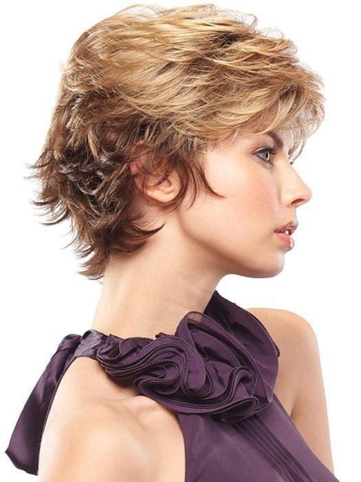 MONO JAZZ by Jon Renau in 10/26TT FORTUNE COOKIE | Lightt Brown and Caramel Blonde Blend with light Brown Nape
