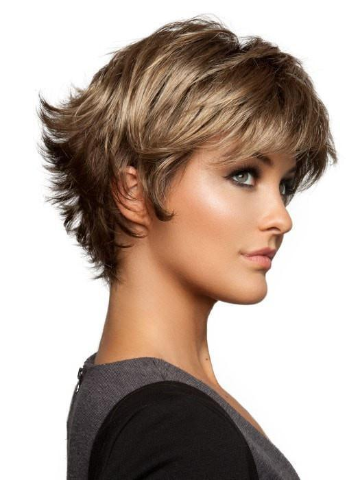 Featuring a double monofilament top, which creates the appearance of natural hair growth