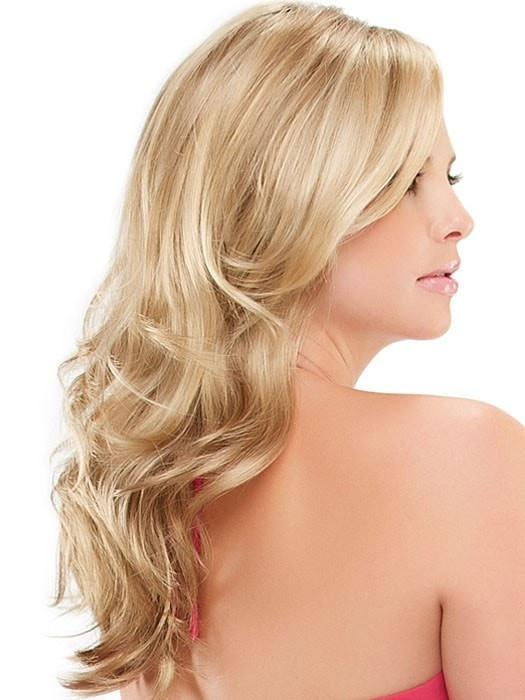 The hand tied monofilament top allows each hair to swivel freely adding to the natural appearance