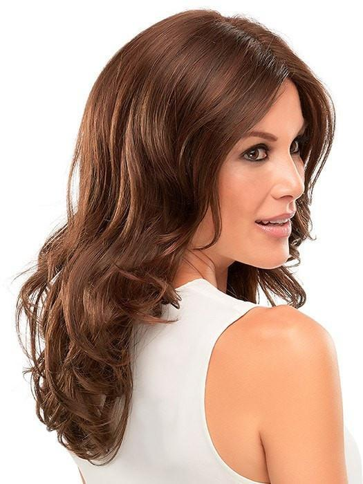 Monofilament- allows multi-directional parting while providing the appearance of natural growth | Color: 6/33