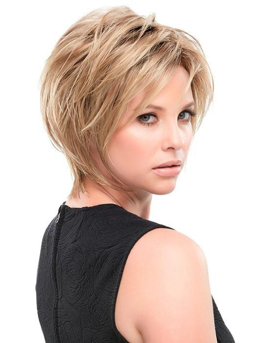 KALEY by Jon Renau in 14/26S10 | Light Gold Blonde and Medium Red-Gold Blonde Blend, Shaded with Light Brown