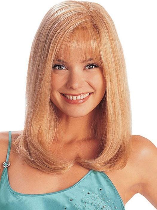 AMBER by Louis Ferre in 140/22 GOLD BLONDE | Light Blonde Blended with Light Red and Blonde Highlight Tones
