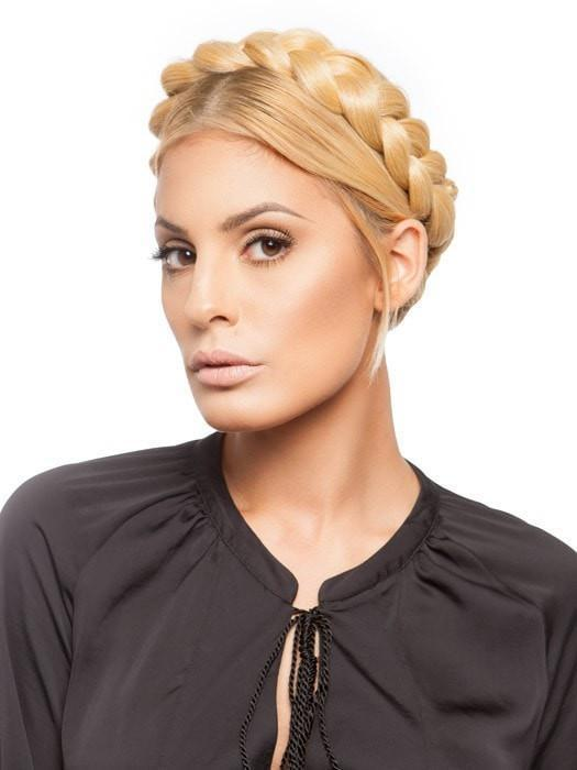 Wigoutlet.com Exclusive | Place it around the head to create a trendy braided crown