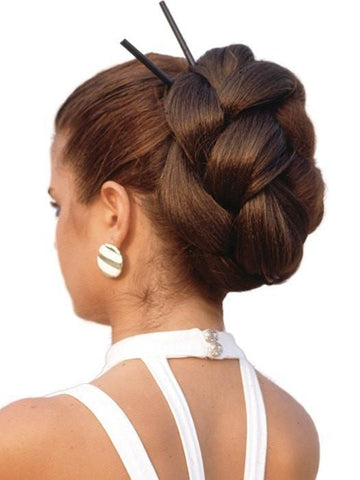 Braided Chignon by Look of Love | CLOSEOUT 70% OFF