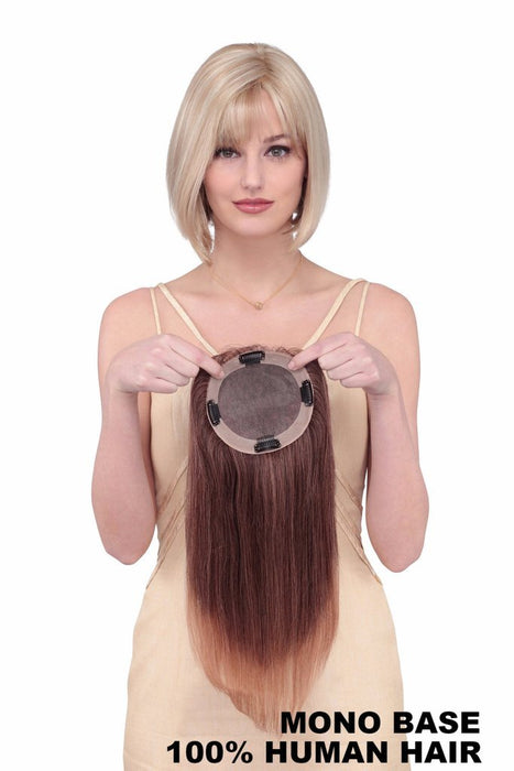 Toppiece 4002 by Louis Ferre | HH Hair Topper with Monofilament Base