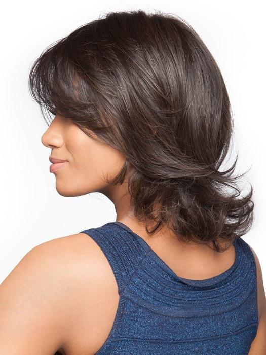 Styled out of the box | You can add curl or straighten it with a flat iron
