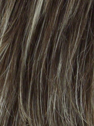 Color Frosti-Blonde = Tipped Medium Reddish Brown w/ Light Gold Blonde Highlights
