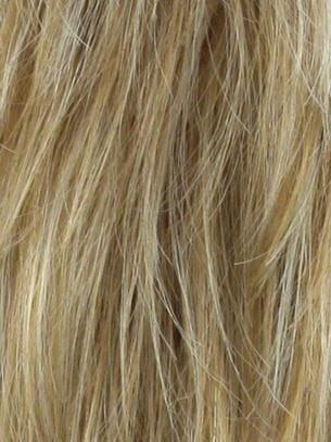 Color Vanilla Lush=Bright Copper and Platinum Blonde 50/50 blend tipped light