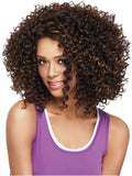Color FS4/27 = Medium Dark Brown & Light Auburn | Curl-Intense by Sherri Shepherd | 25% OFF