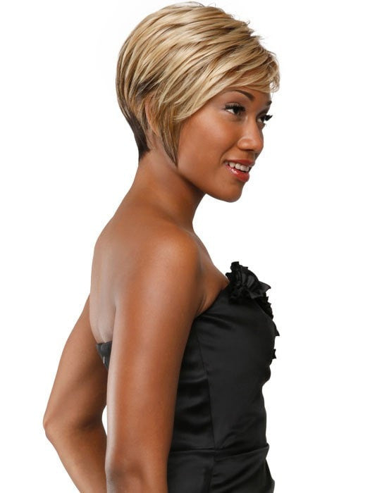 Color 3T/4/613 | Stacked Bob by Sherri Shepherd | 25% OFF - WigOutlet.com
