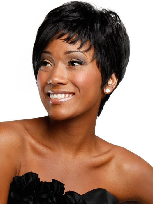 Color 1 (Jet Black) | Angled Tomboy by Sherri Shepherd - NOW | CLOSEOUT | 25% OFF - WigOutlet.com