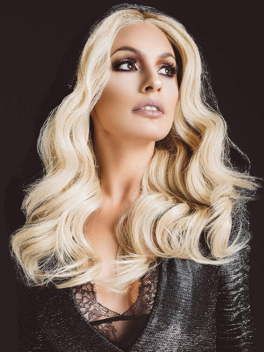 OBSESSION by Ellen Wille | Blonde Human Hair Wig (This piece has been styled and curled)