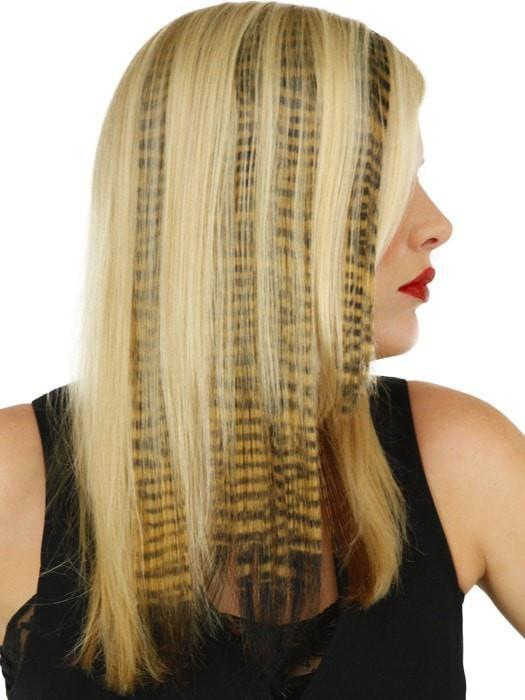"16"" Tiger Print Hair Extensions (1pc) by POP 