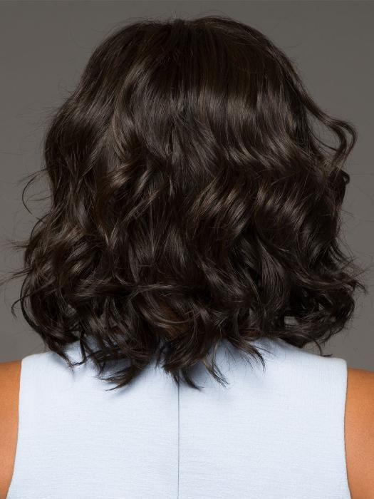 EDITORS PICK by RAQUEL WELCH in RL2/4 OFF BLACK | Black Evenly Blended with Dark Brown Highlights