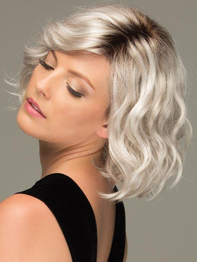 VIOLET by ESTETICA in SILVERSUNRT8 | ICED BLONDE WITH SOFT SAND & GOLDEN BROWN ROOTS