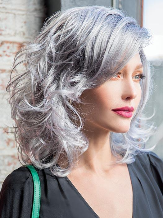 INDIA by RENE OF PARIS in SMOKY GRAY-R