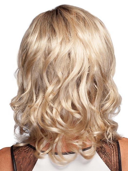 SILKY-SAND | Pale Blonde with Dark Brown roots