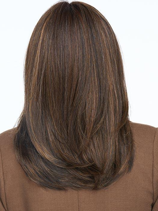 RL8/29SS SHADED HAZELNUT | Warm Medium Brown Evenly Blended with Ginger Blonde with Dark Roots
