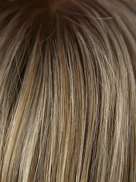 791G | Dark Blonde roots that graduate to a Medium Blonde with Light Golden Highlights