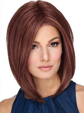 ON POINT by RAQUEL WELCH in RL33/35 DEEPEST RUBY | Dark Auburn Evenly Blended with Ruby Red